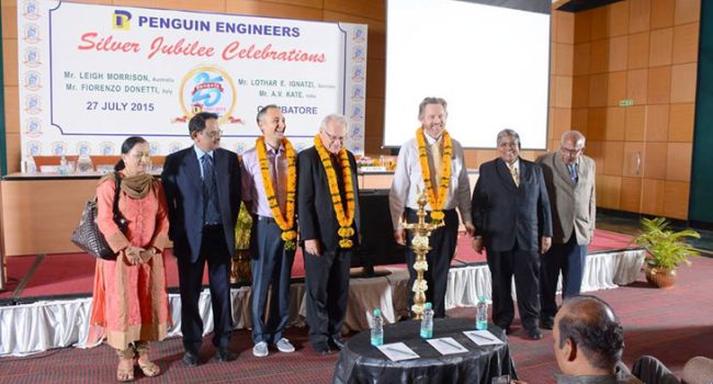 RYCO's CEO presents Inaugural Speech at Penguin Engineers 25-Year Silver Jubilee