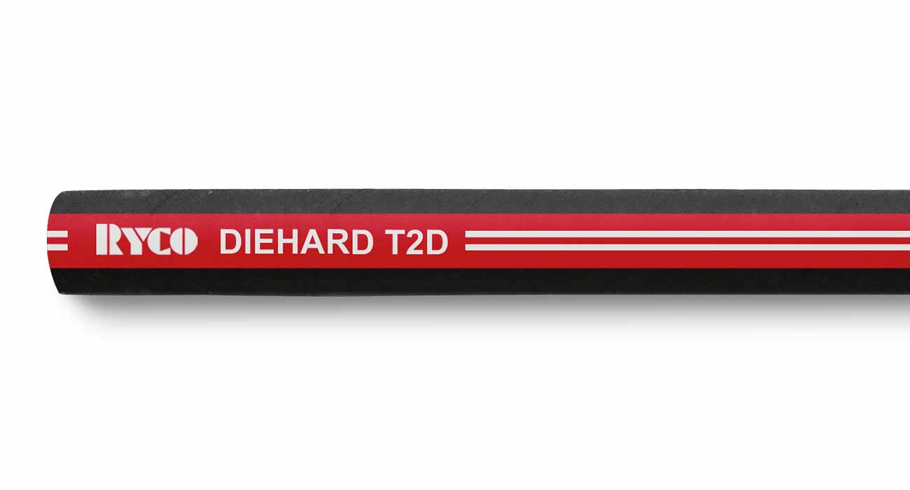 T2D RYCO DIEHARD™ Two Wire Braid Hydraulic Hose
