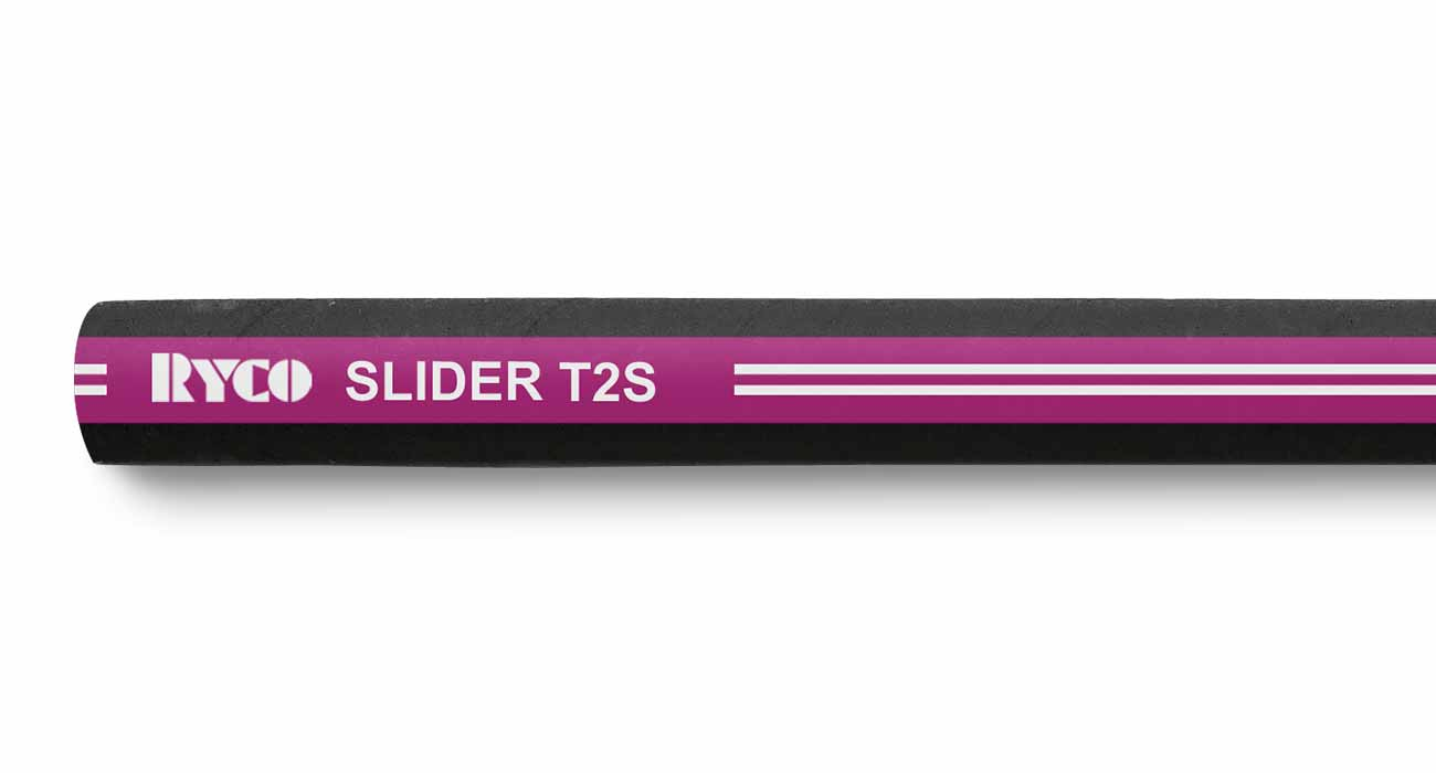 T2S RYCO SLIDER Two Wire Braid Hydraulic Hose