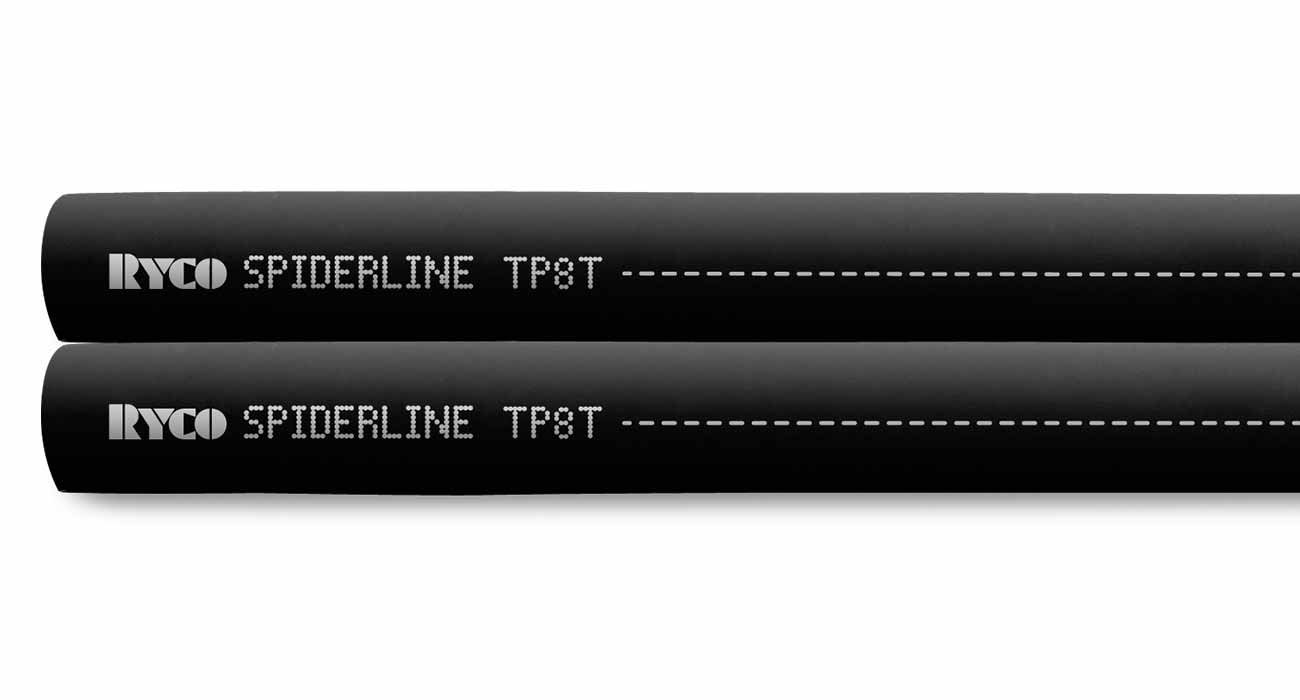 TP8T Thermoplastic Spiderline R8 Twin Hose