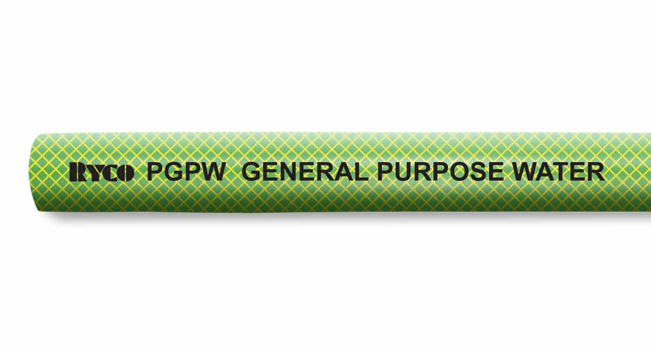 PVC Air Water PGPW RYCO General Purpose Water Industrial Hose