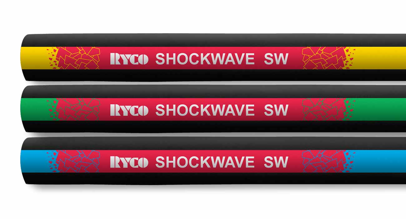 SW Shockwave High Pressure Waterblast Industrial Hose