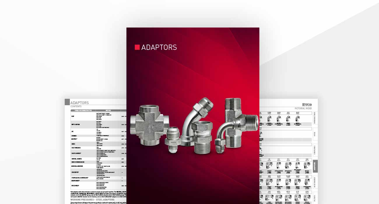 Adaptors Section - Hydraulics Technical Manual