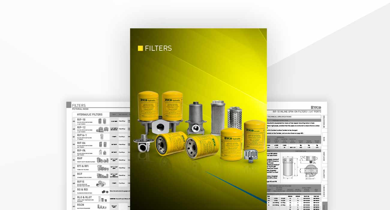 Filter Section - Hydraulics Technical Manual