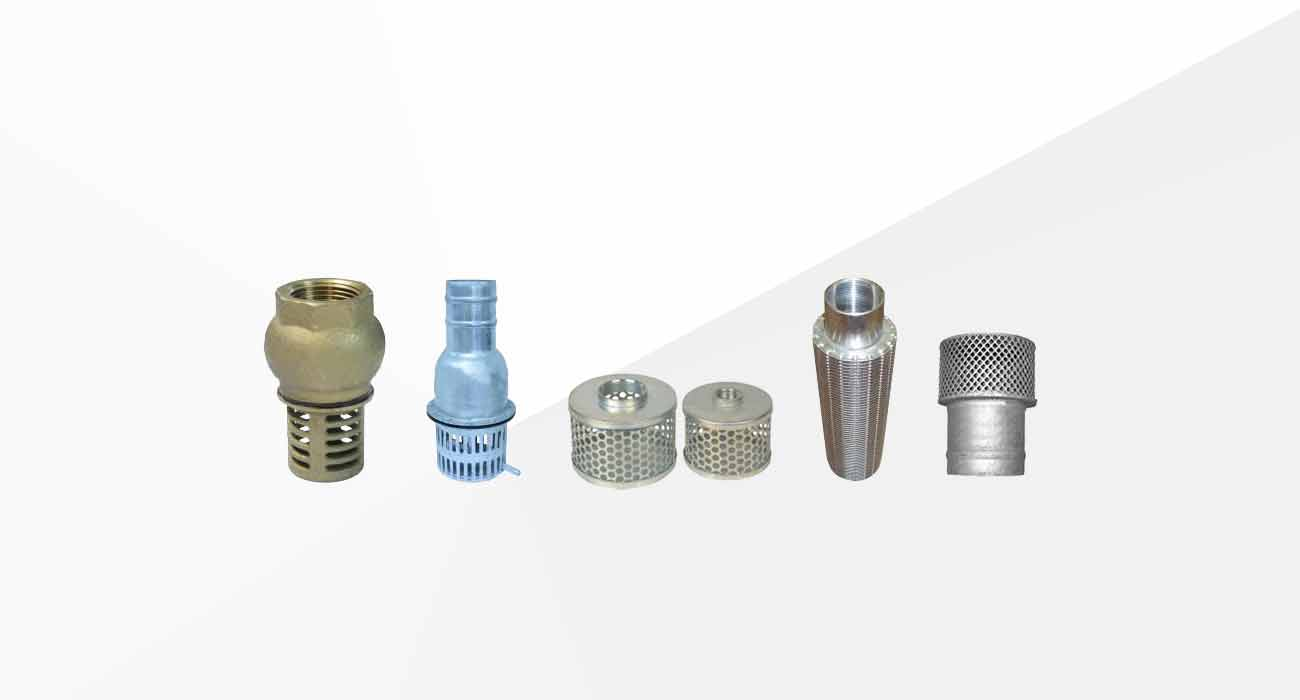 Valves and Suction Strainers