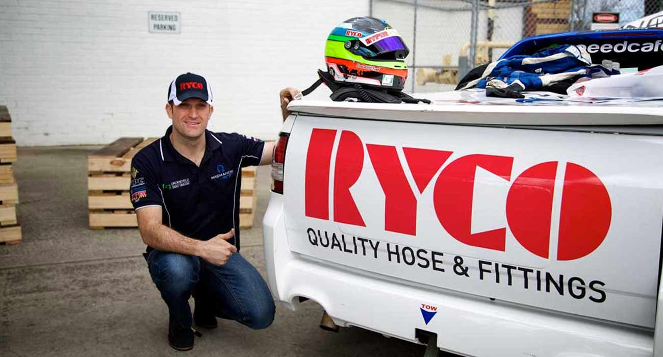 "Gerard ""Maverick"" McLeod visits RYCO Head Office"