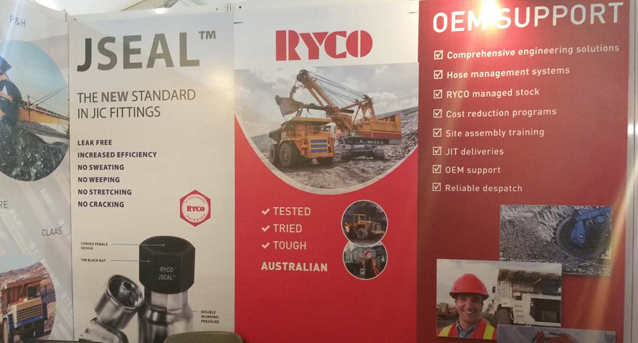RYCO Hydraulics at the 13th International Mining & Machinery Exhibition November 16-19, 2016