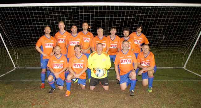 RYCO 24•7 Whangarei sponsors the Tikipunga Association Football Club Senior Mens Division 3 Team