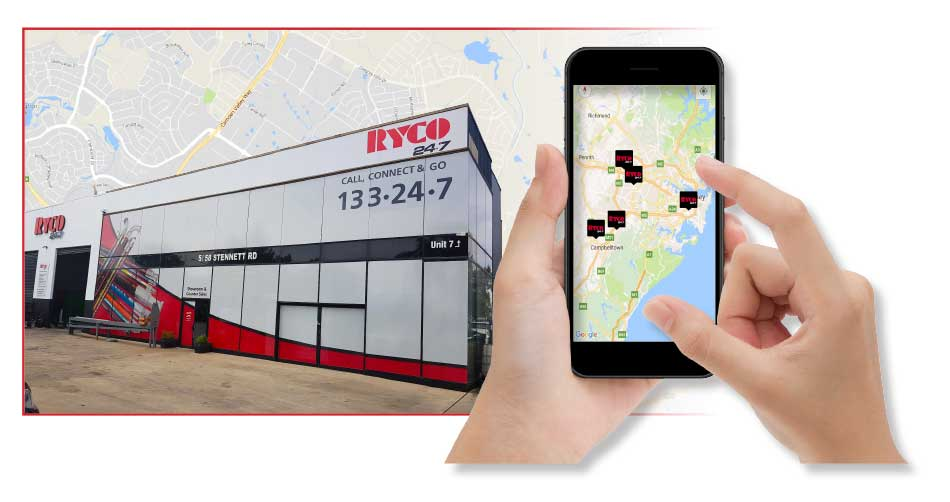 RYCO Asset Management System Service Store Locator