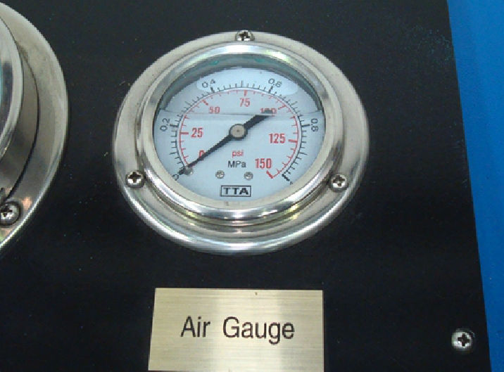 RYCO Proof Test Rig - Air Gauge