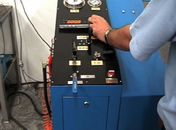 RYCO Proof Test Rig - Apply Low Pressure
