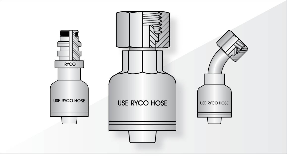 RYCO - One Piece Crimp Couplings